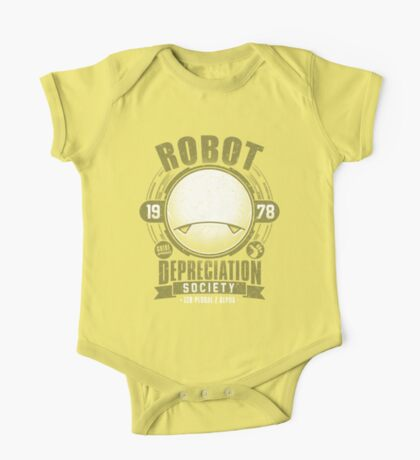 Robot Depreciation Society - Marvin the Paranoid Android Kids Clothes