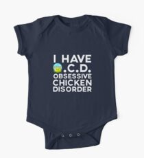 OCD Obsessive Chicken Order Kids Clothes