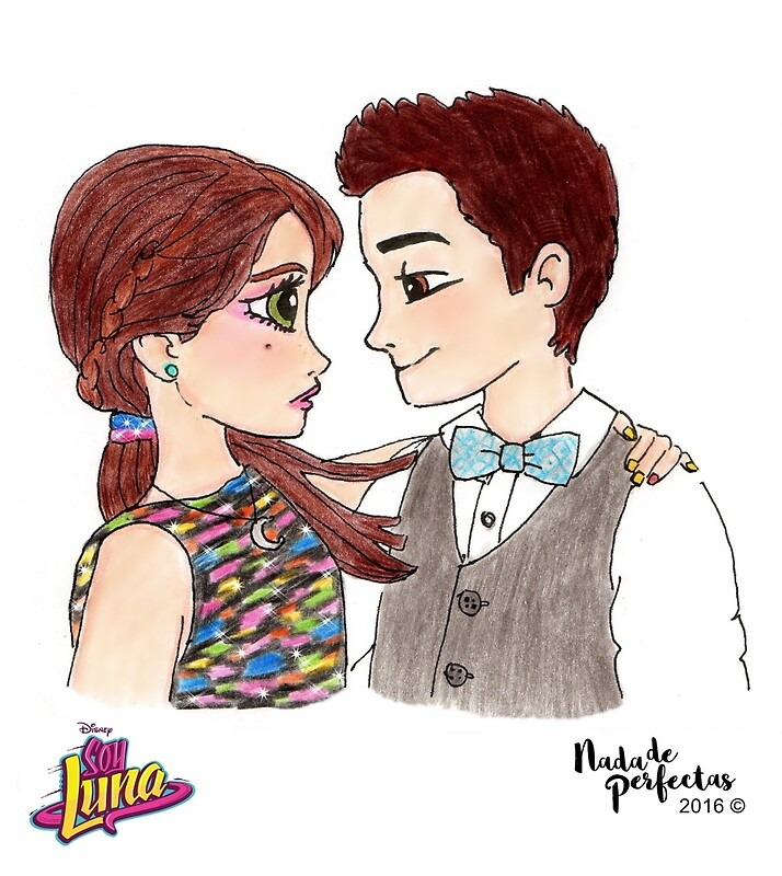 """""""LUTTEO de Soy Luna by NadadePerfectas"""" Greeting Cards by"""