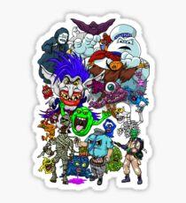 I Ain't Afraid Of No Ghost Sticker