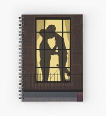 Johnlock Window Kiss Spiral Notebook