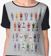 Transformers Alphabet Chiffon Top