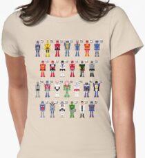 Transformers Alphabet Women's Fitted T-Shirt