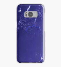 Marshall Islands Bikini Atoll Satellite Image Samsung Galaxy Case/Skin