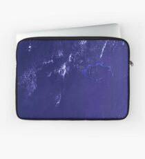 Marshall Islands Bikini Atoll Satellite Image Laptop Sleeve