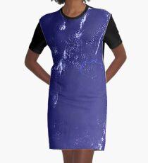 Marshall Islands Bikini Atoll Satellite Image Graphic T-Shirt Dress