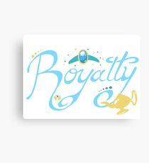 Royalty - Show you the world Canvas Print