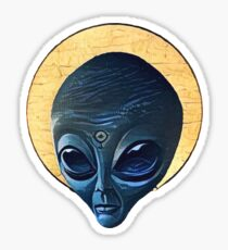 St. Alien Sticker