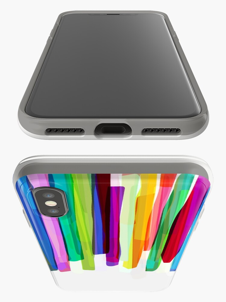 Alternative Ansicht von Colorful Stripes 2 iPhone-Hülle & Cover