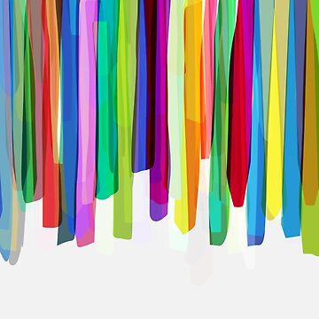 Colorful Stripes 2 von MarBoe