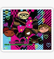 Naturally Me: Olivia Brown and her Coily Crew 2 Sticker