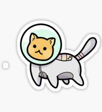 SPACE CAT! Sticker