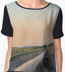 Along the track Women's Chiffon Top