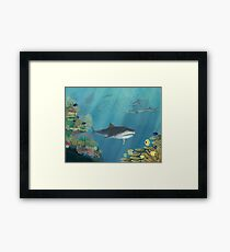 Underwater Reef Framed Print