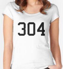 304 Women's Fitted Scoop T-Shirt