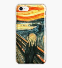 The Scream by Edvard Munch iPhone Case/Skin