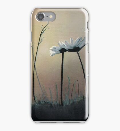 Daisies at Dusk iPhone Case/Skin