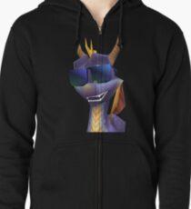 Spyro Shades Zipped Hoodie