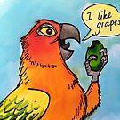 Chesney Grapes by Skye Elizabeth  Tranter
