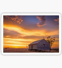Rural Sunset Sticker