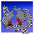 Chequer 1 by Mugsy