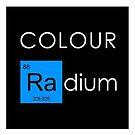 Colour Radium - Bule by Ry Bowie-Woodham