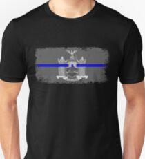 Blue Line New York State Flag Unisex T-Shirt