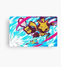 Alakazam | Psyshock Canvas Print