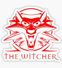 The Witcher Red Sticker