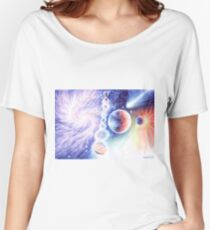 Time space life in the universe  Women's Relaxed Fit T-Shirt