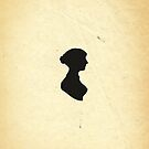 Jane Austen Silhouette (Small) by Dalton Rowe