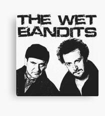Wet Bandits  Canvas Print