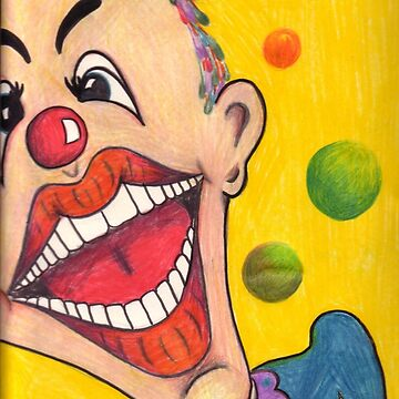 Clown Face by Chanij74