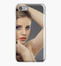 Beauty model iPhone Case/Skin