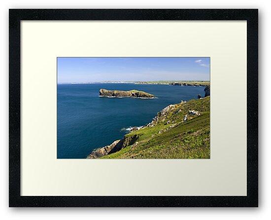 The Cornish coastline by Steve plowman