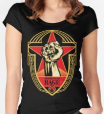 BNR05 Prophets of Rage - Make America Rage Again Tour 2016 Women's Fitted Scoop T-Shirt