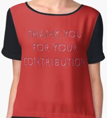 Contribution Chiffon Top
