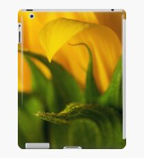 helianthus Macro iPad Case/Skin