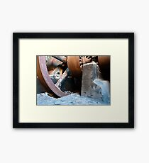 Old Rusty Machine Framed Print