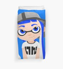 Funda nórdica Splatoon - Inkling girl Blue HD (Actualized 08/13/2016)