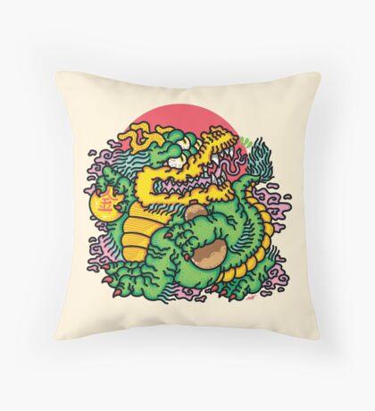 Rich Boi Throw Pillow