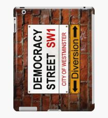 Diverted Democracy iPad Case/Skin