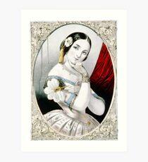 Georgianna - 1846 - Currier & Ives Art Print