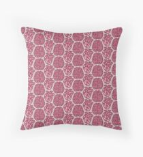Pink Matter Throw Pillow