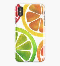 A Burst of Citrus iPhone Case/Skin
