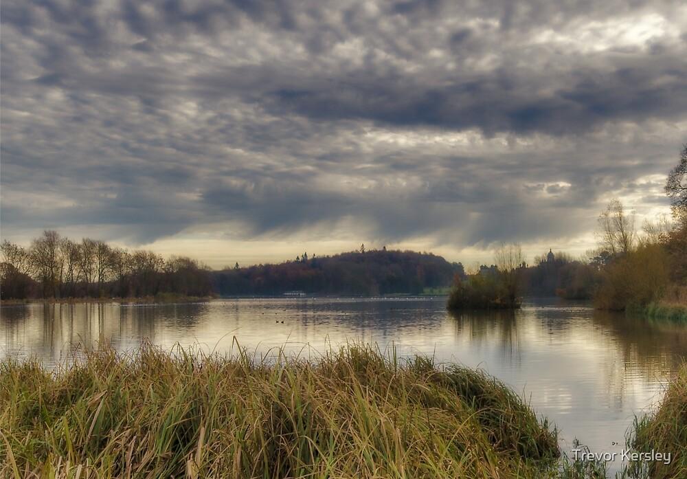 Castle Howard Lake by Trevor Kersley