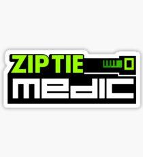ZIP TIE medic (3) Sticker
