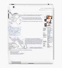 Patricia - A Bout De Souffle / Wikipedia Art iPad Case/Skin