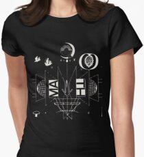 #1 Bon Iver / 22, A Million Women's Fitted T-Shirt