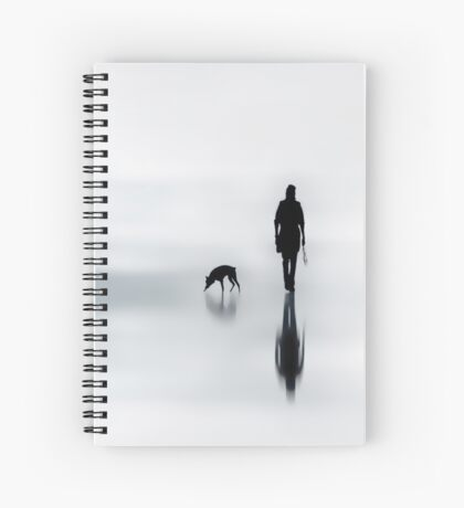 one man and his dog Spiral Notebook